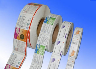 Heat Sensitive Adhesive Paper Stickers , Adhesive Label Paper For Protective Film